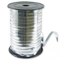 "Лента-тесьма для шаров ""Боско"" - серебро металлик (110 м)"