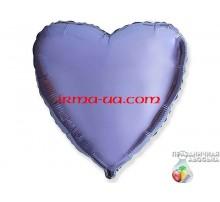 Шар Flexmetal сердце «Лилия» 18'