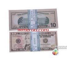"""Сувенирные деньги - """"10$"""""""