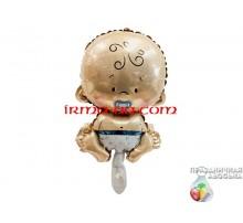 Фольгированный шар мини-фигура Китай — Пупс мальчик