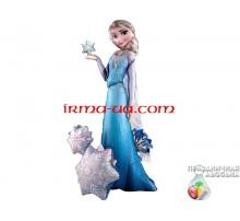 Фольгированный Шар-Ходячка Anagram «Холодное Сердце Эльза»