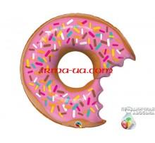 Фольгированный Шар-Фигура Qualatex «Пончик» 69 см