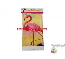 Скатерть с рисунком «Фламинго» 108х180 см