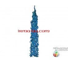 Кисточка-тассел синяя перламутровая 85х20