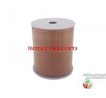 """Лента-тесьма для шаров """"Боско"""" - коричневая (225 м)"""