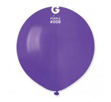 Шар-гигант латексный Gemar  G150 - фиолетовый 19'
