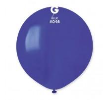 Шар-гигант латексный Gemar  G150 - синий 19'
