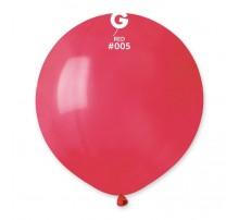 Шар-гигант латексный Gemar  G150 - красный 19'