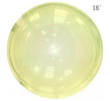 Шар Bubbles 18' - желтый