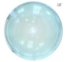 Шар Bubbles 18' - голубой