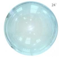 Шар Bubbles 24' - голубой