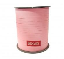 "Лента-тесьма для шаров ""Боско"" - розовая матовая (225 м)"