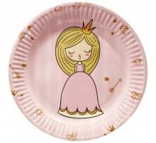 Тарелка маленькая «Принцесса с короной»