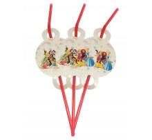 Трубочки «Принцессы Disney» (новые)