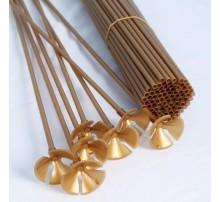 Палочка-держатель для шаров 51 см - золото