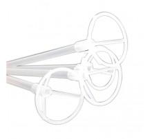 Палочка-держатель для шаров 70 см - прозрачная