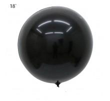 """Шар Bubbles """"Metallic"""" 18` - черный"""