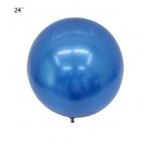 """Шар Bubbles """"Metallic"""" 22` - синий"""