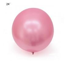 "Шар Bubbles ""Metallic"" 22` - розовый"