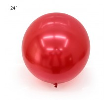 "Шар Bubbles ""Metallic"" 22` - красный"