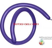 Шар латексный Gemar ШДМ D4 260-й - «Фиолетовый»