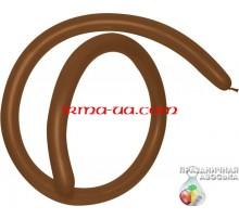 Шар латексный Gemar ШДМ D4 260-й - «Шоколад(коричневый)»